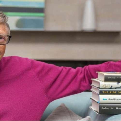Bill Gates: Los 5 libros que debes leer para año 2021