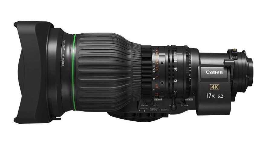 Canon presenta el CJ17ex6.2B, un objetivo BCTV 4K con una amplia gama de longitudes focales