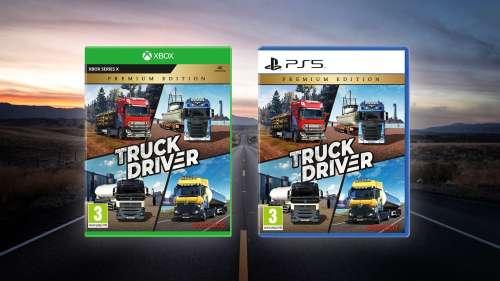 Truck Driver – Premium Edition llegará el 30 de septiembre a PlayStation®5 y Xbox Series X|S