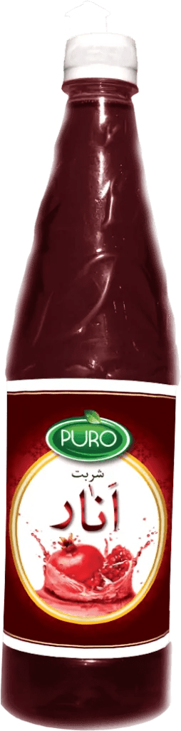 Puro Food Pomegranate Juice. Anar Sharbat
