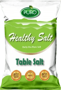 puro food healthy salt