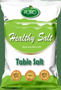puro food healthy salt