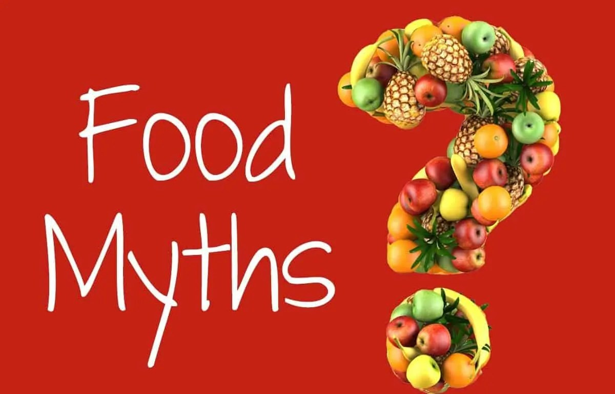 Common Food Myths Puro Food