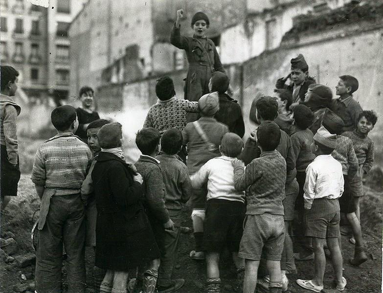 Niños Madrid- Juan Pando Barrera