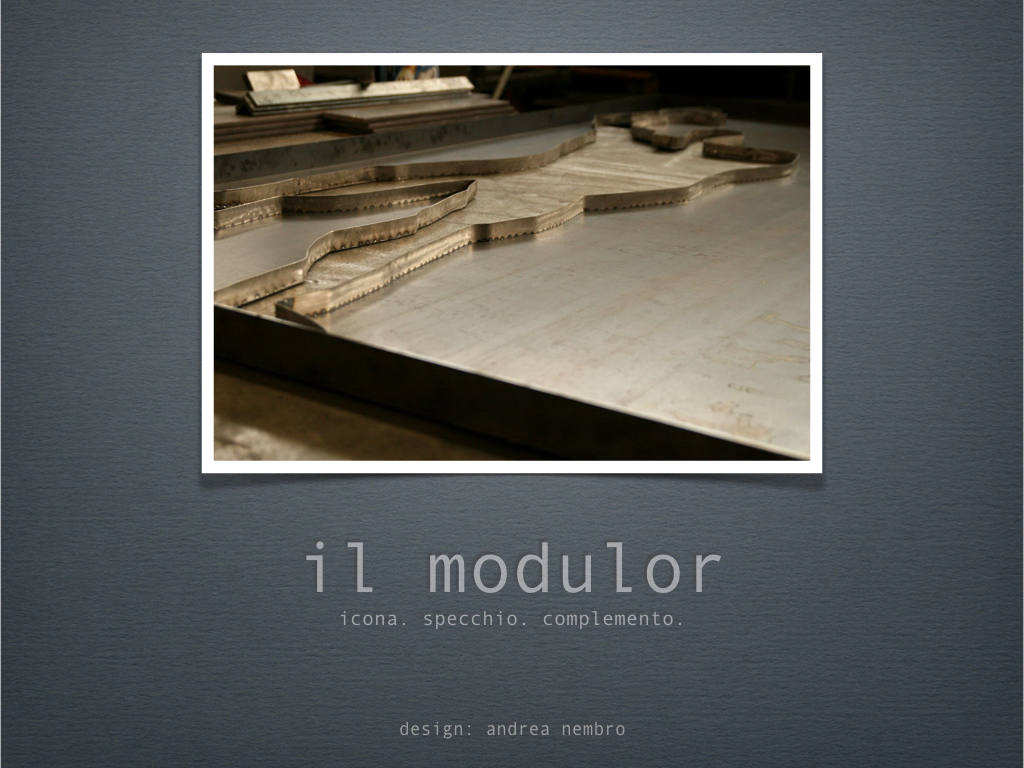 il modulor | cover