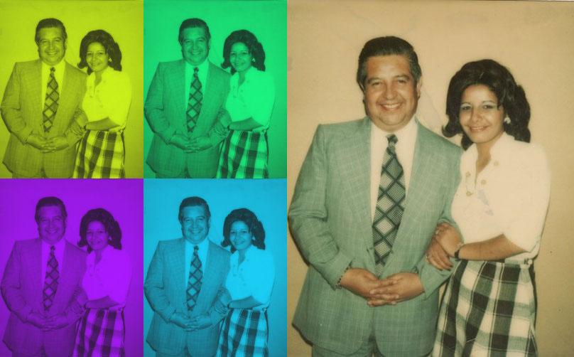 """Manuel Contreras y Adriana Rivas, la """"Chany"""". Foto: Memoria Viva"""