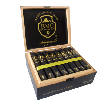 Double Black Añejo Box