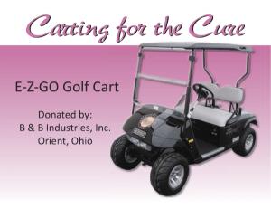 TETWP Golf Cart Sign