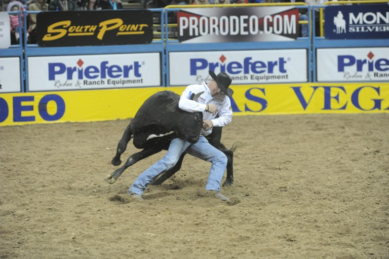 Trevor Knowles at the 2015  WNFR