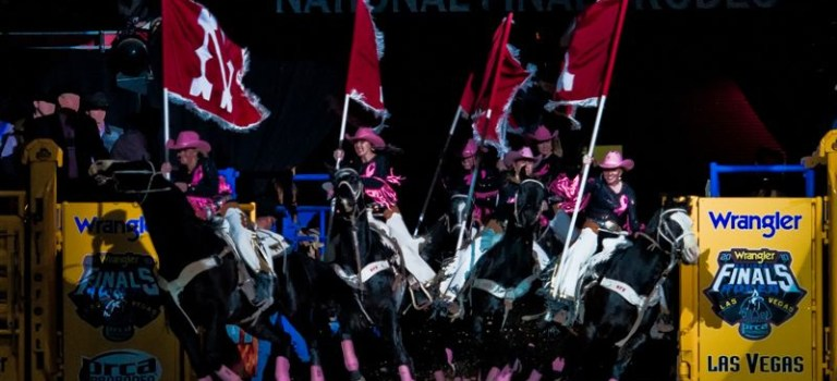 Hat's Off to the Wrangler National Finals Rodeo and Tough Enough To Wear Pink