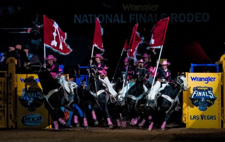bfc72cfc22166 Since Purple Cowboy wines were created back in 2008 December means Tough  Enough To Wear Pink Night at the Wrangler National Finals Rodeo in Las  Vegas.
