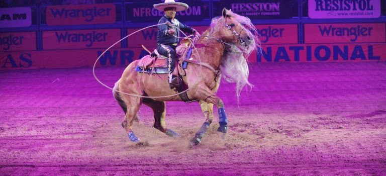 Find Tough Enough to Wear Pink at the Wrangler National Finals Rodeo