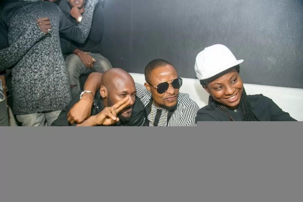 faze bithday party at club rumours vi Faze 2face Daddy Shoki Soma Gifty JonBig Brother Naija housemates Ese Purple crib studios Photos by kayode Ajayi Kaykluba 17