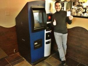 Erster Bitcoin-Geldautomat in den USA