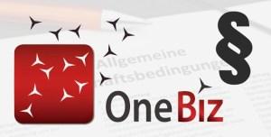 OneBiz ändert AGB ohne Ankündigung
