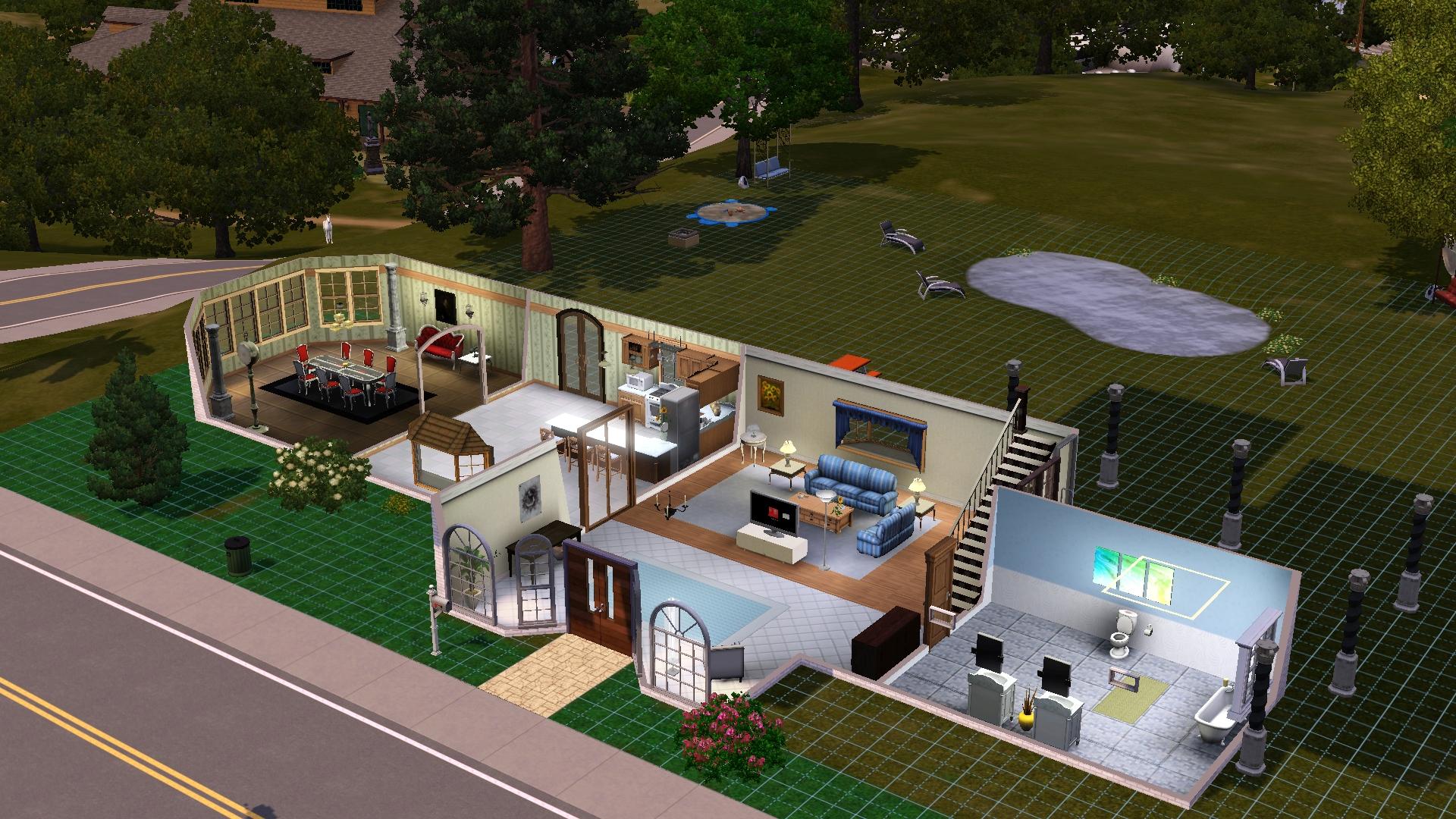 Sims 3 House Plans Xbox 360