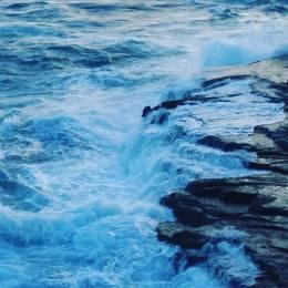 Ocean cliff 1
