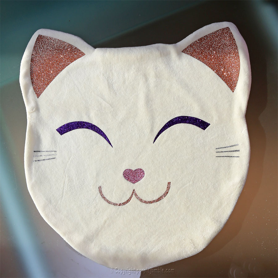 DIY  un coussin chat kawaii tout doux projet DIY