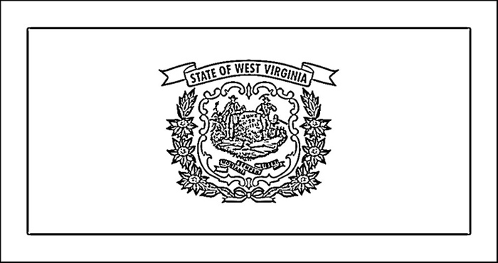 west virginia Colouring Pages