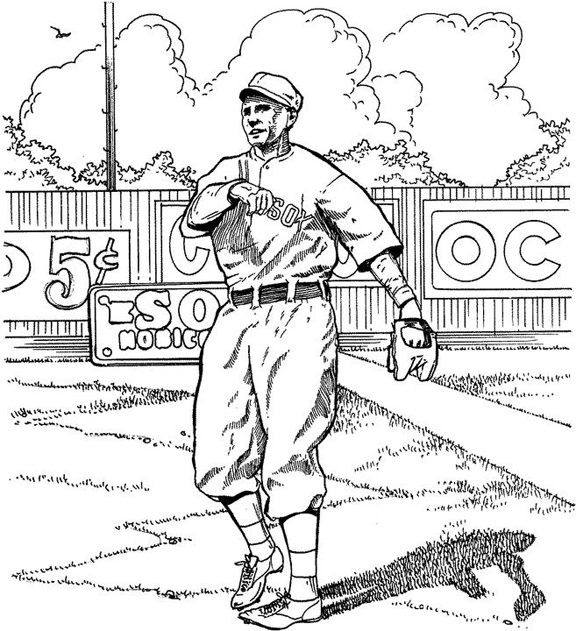 red sox coloring pages # 12