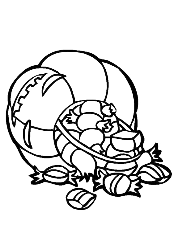 Free Coloring Pages Of Empty Candy Jar