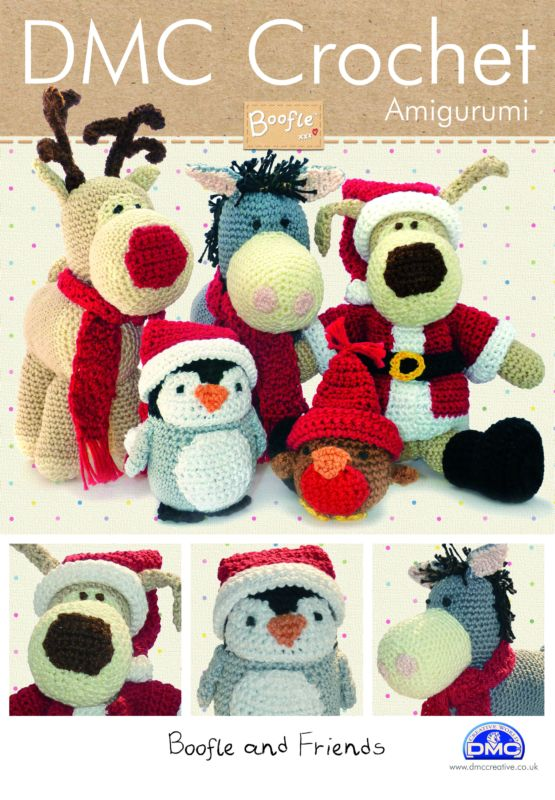 BOOFLE And Friends Christmas DMC Crochet Pattern Booklet