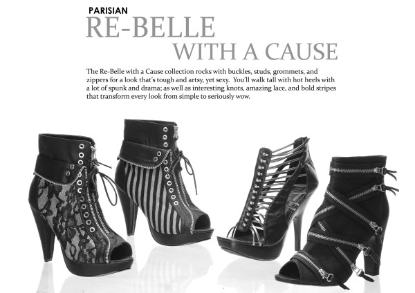 Parisian Shoes SM - Re-belle