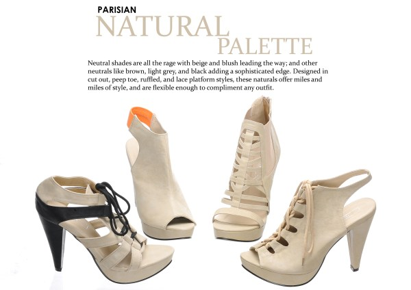Parisian Shoes SM - Natural Palette