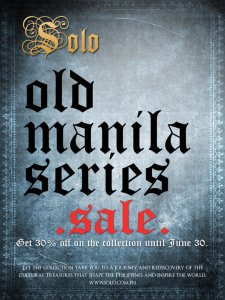 Solo Manila Series SALE