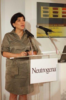 Dra. Lorna Frez explains the different causes of skin pigmentation