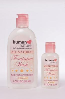 Human Nature All Natural Feminine Wash
