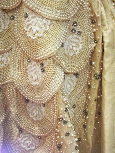 Ramon Valera Gown Beadwork
