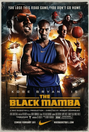 NIKE The Black Mamba - Kobe Bryant