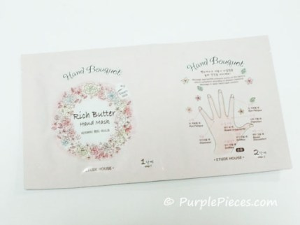 Etude House - Rich Butter Hand Mask