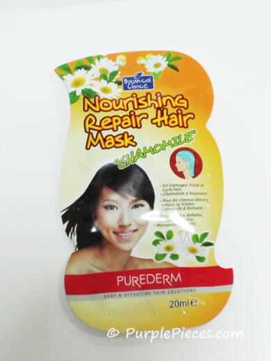 Purederm Nourishing Repair Hair Mask - Chamomile