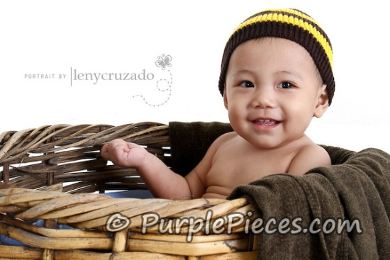 Baby Photography by Leny Cruzado - Bumble Bee