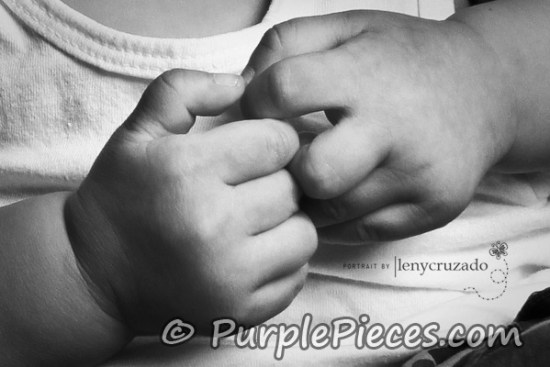 Baby Photo Shoot Philippines - Hands