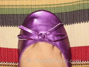 Frollic shoes - ribbon detail