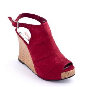 Muniz Shoes - Barbara in Red