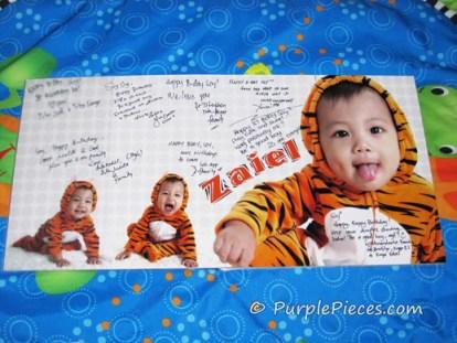 Zaiel's Birthday Guestbook - Leny Cruzado Photography