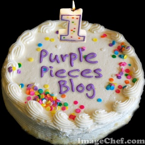 Purple Pieces 1st Blog Anniversary Giveaway - Update