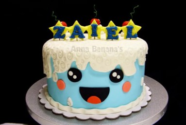 Kawaii Birthday Cake
