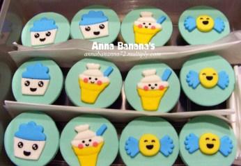 Kawaii Cupcakes - Anna Banana Bakeshop