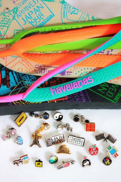 MYOH 2011 - Havaianas Soles, Straps, Pins, Charms