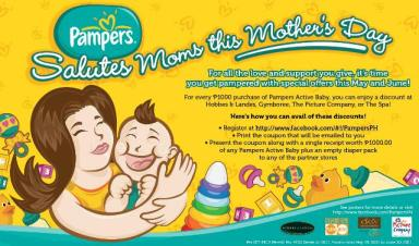 Pampers Salutes Moms Promo Details