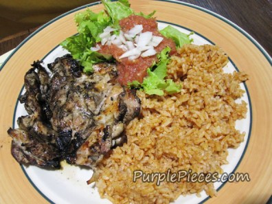 Mexicali Grilled Chicken Plate