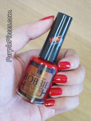 Regular Vamp - Red Nail Polish by Bobbie