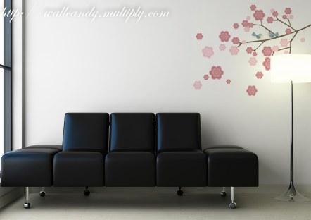 Wall Candy - Sakura and Birds