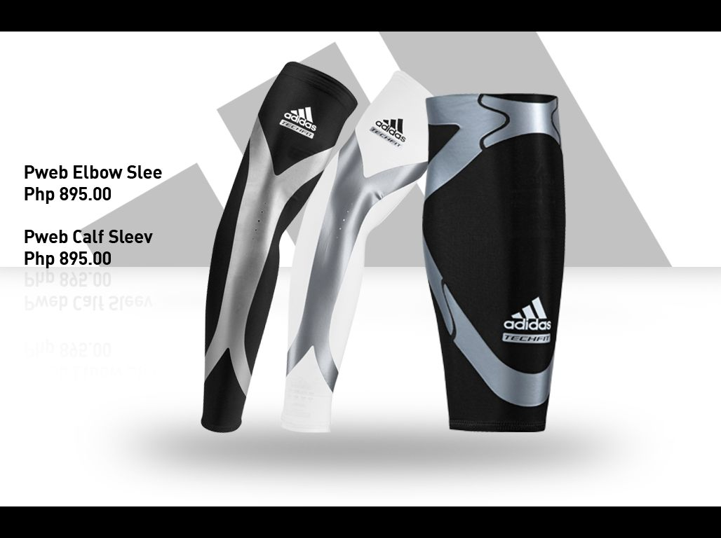 9377b0f63a adidas TechFit - elbow sleeve - calf sleeve. Seamless Arm Sleeves (Php 595)