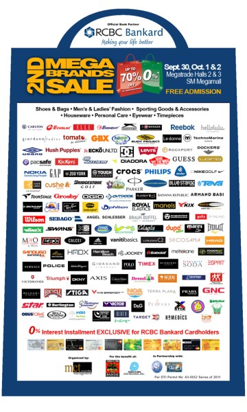 2nd Mega Brands Sale - Megatrade Hall SM Megamall